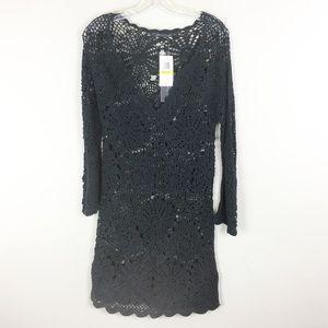 Patterson J. Kincaid | Black Long Sleeve Dress- M7